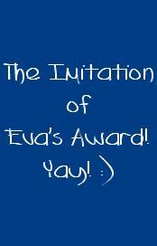 Eva's Award!